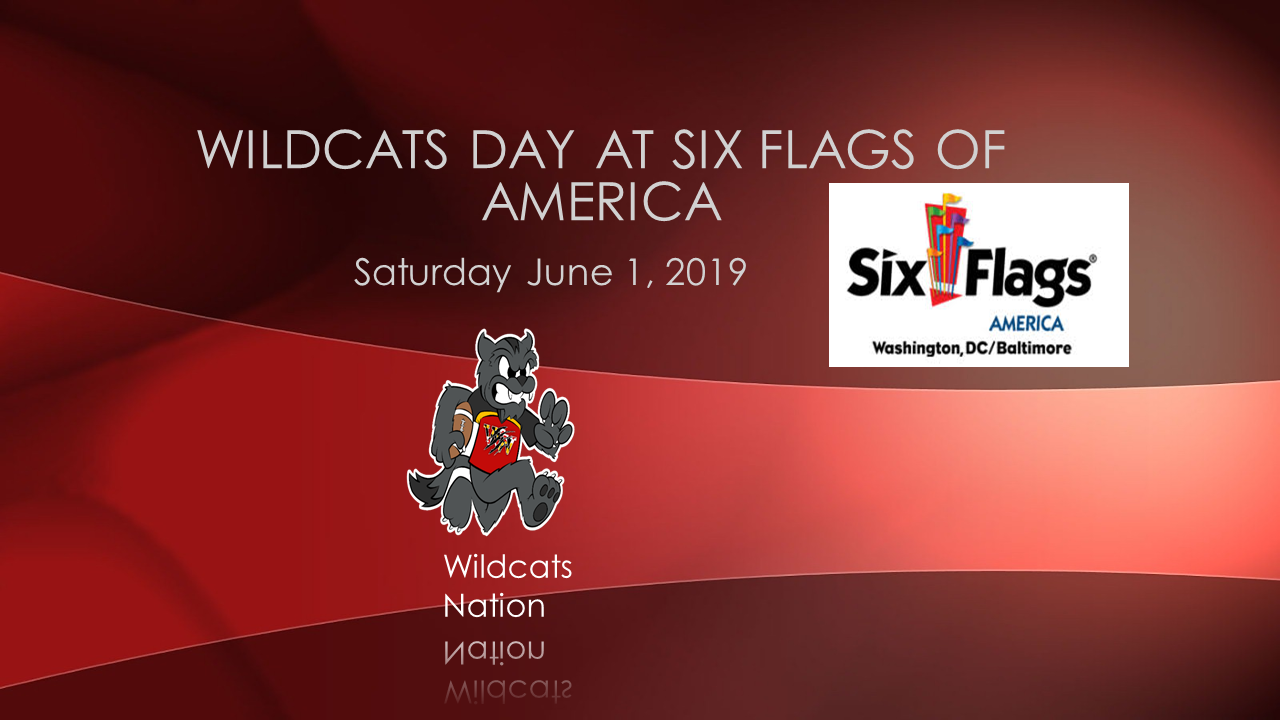 Waldorf Wildcats Day at Six Flags of America