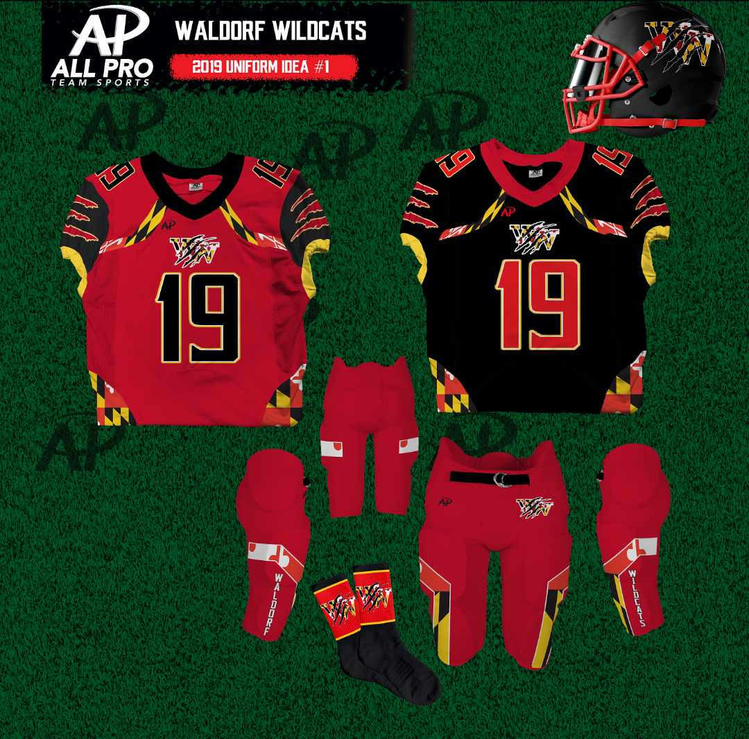Fall 2019 Uniforms - Red